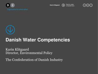 Danish Water  Competencies