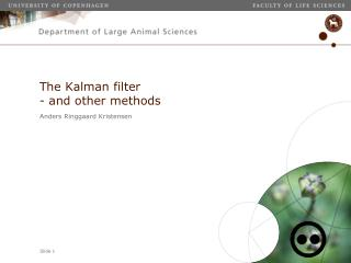 The Kalman filter - and other methods