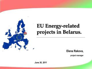 EU Energy-related projects in Belarus.