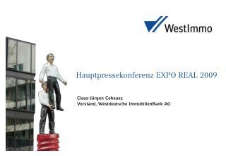 Hauptpressekonferenz EXPO REAL 2009