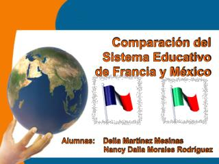 Comparación del Sistema Educativo de Francia y México