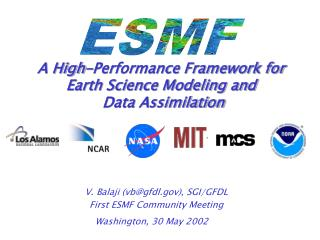 A High-Performance Framework for Earth Science Modeling and  Data Assimilation