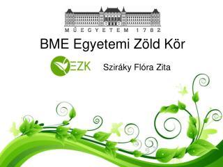 BME Egyetemi Zöld Kör