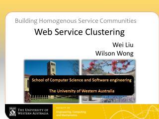 Web Service Clustering