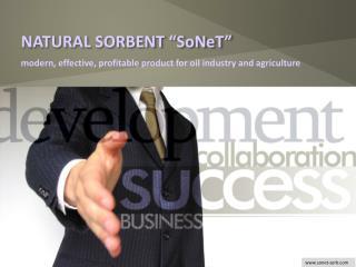 "NATURAL SORBENT ""SoNeT"""
