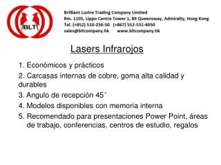 Lasers Infrarojos