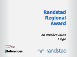 Randstad Regional  Award