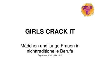 GIRLS CRACK IT