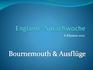 England - Sprachwoche