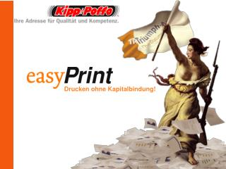 Drucken ohne Kapitalbindung