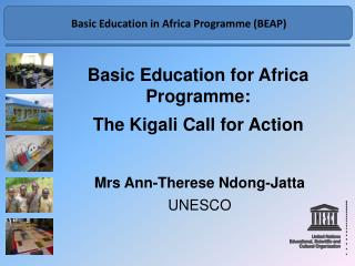 Basic Education for Africa Programme:   The Kigali Call for Action