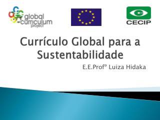 Currículo Global para a Sustentabilidade