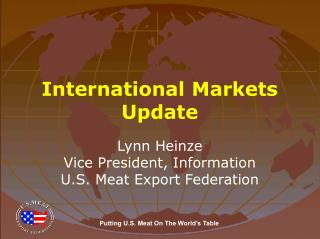 International Markets Update