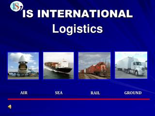 IS INTERNATIONAL Logistics