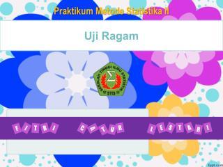 Uji Ragam
