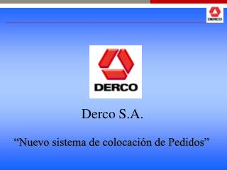 Derco S.A.