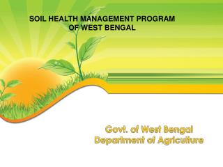 Govt. of West Bengal Department of Agriculture