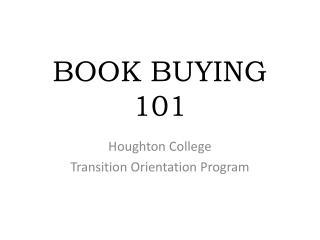 BOOK BUYING 101