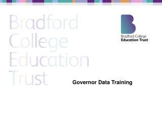 Governor Data Training