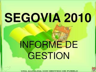 SEGOVIA 2010