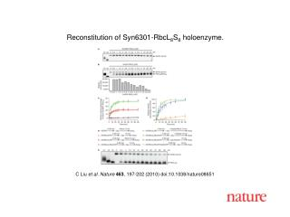 C Liu  et al. Nature 463 , 197-202 (2010) doi:10.1038/nature08 651