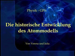 Die historische Entwicklung des Atommodells