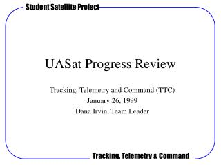 UASat Progress Review