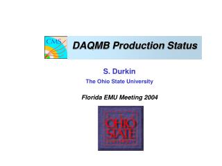 DAQMB Production Status