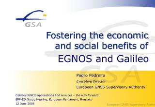 EGNOS and Galileo