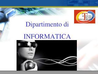 Dipartimento di INFORMATICA