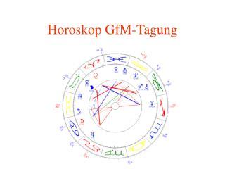 Horoskop GfM-Tagung