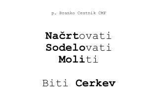 p. Branko Cestnik CMF