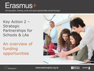 Key Action 2 – Strategic Partnerships for Schools & LAs An overview of funding opportunities