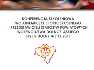 Współzawodnictwo szkół i powiatów województwa dolnośląskiego