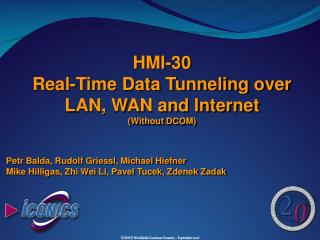 HMI-30 Real-Time Data Tunneling over LAN, WAN and Internet (Without DCOM)