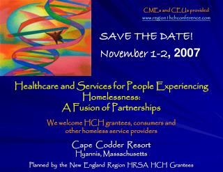 Healthcare and Services for People Experiencing Homelessness:   A Fusion of Partnerships