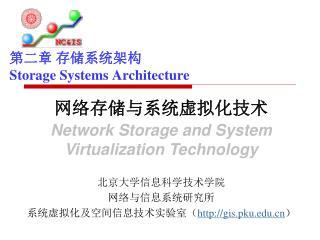 第二章 存储系统架构 Storage Systems Architecture