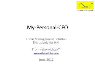 My-Personal-CFO