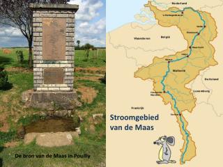 Stroomgebied van de Maas .