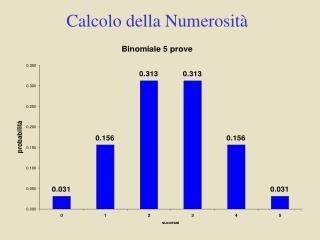Calcolo della Numerosità