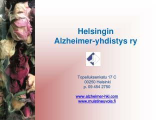 Helsingin  Alzheimer-yhdistys ry