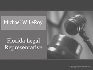 Florida Legal Representative