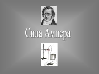 Сила Ампера