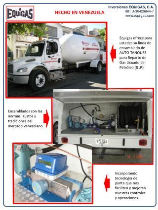 Inversiones EQUIGAS, C.A. RIF: J-30429844-7 equigas