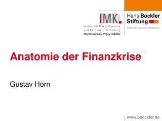 Anatomie der Finanzkrise