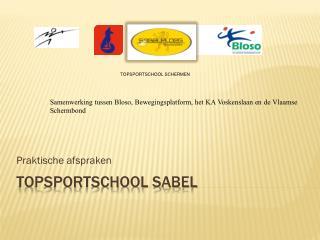 Topsportschool sabel
