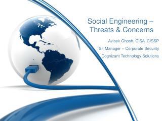 Social Engineering – Threats & Concerns