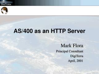 AS/400 as an HTTP Server