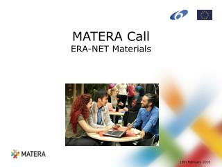 MATERA Call ERA-NET Materials