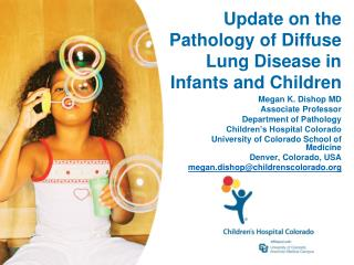 Update on the Pathology of Diffuse Lung Disease in Infants and Children